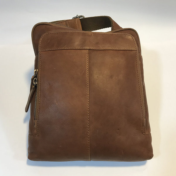Gianni Conti sacoche homme cuir 250 2560, collection Vintage
