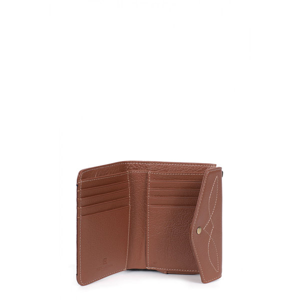Hexagona portefeuille RFID cuir 137859, collection Wild